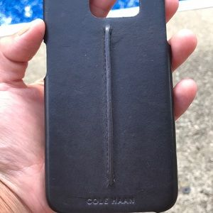 Cole haan leather iPhone case cover